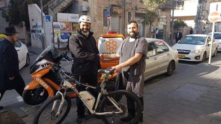 המתנדב ששמר על האופניים
